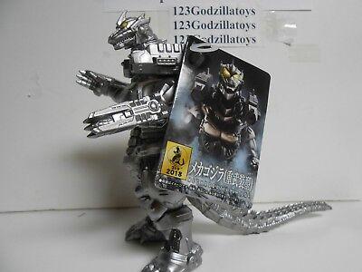"""New Japan Bandai 6.5"""" Mechagodzilla 2004 Heavily Armored Version Figure"""