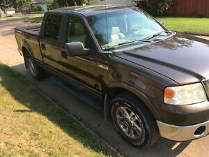 2007 F150 Lariat, Crew Cab, well maintained