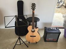 Cort sfx e ns electric acoustic guitar soft case Roland amp Noosaville Noosa Area Preview
