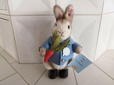 Steiff Peter Rabbit Hase 354168 Limitiert 27cm Zertifikat 100 Jahre Jubiläum gebraucht kaufen  Asbach