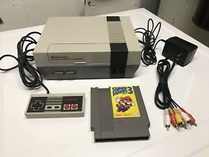 NES System with Super Mario 3