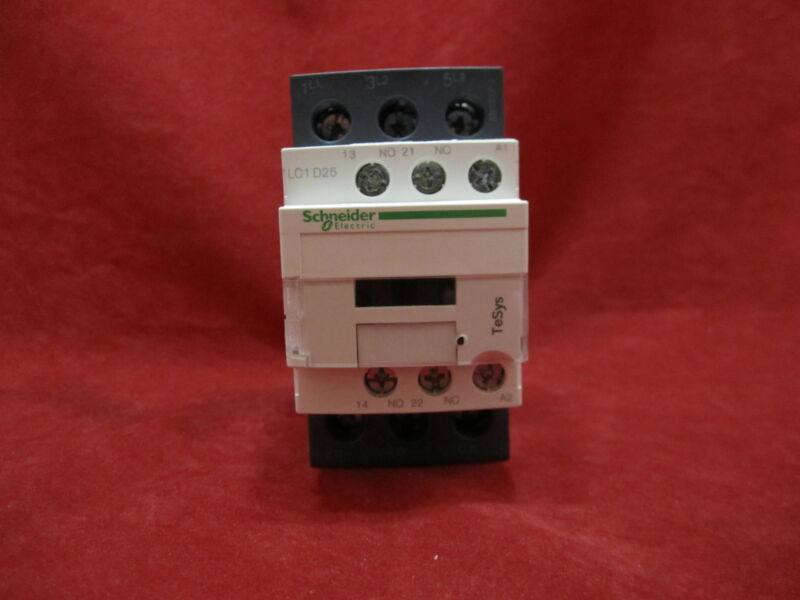 Schneider/Telemecanique LC1D25B7 Magnetic Contactor AC24V