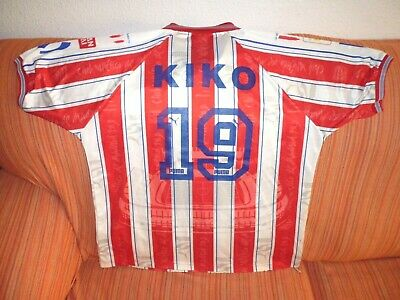 Camiseta KIKO ATLETICO MADRID temporada 1996-97 shirt maglia trikot futbol image