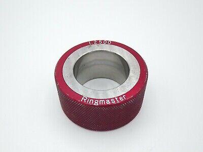 Ringmaster Smooth Plain Bore Ring Gage 1.2500 No Etchings 1 14