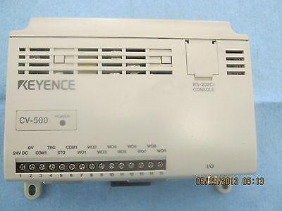 Keyence: Model: CV-500 Camera Control Module  w/ Remote Control < O