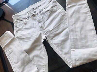 Gap White Skinny Jeans - Size 26r
