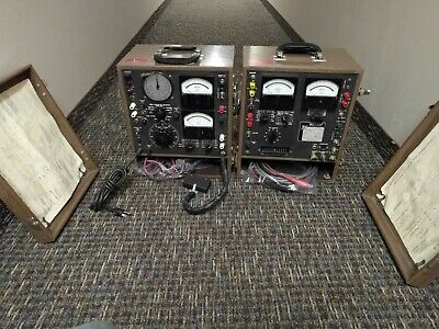 Multi-amp Tester Model Sr-51-4 2 Pc Test Set - Unit 1 And Unit 2 Sr514
