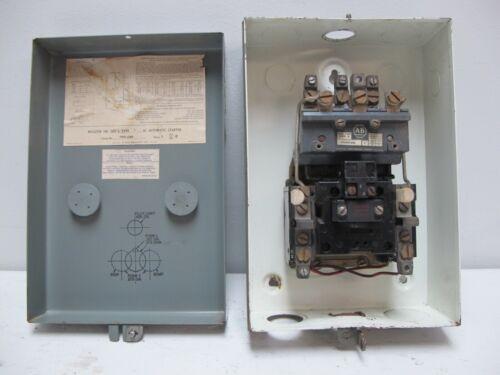Allen Bradley 709-CAD Size 2 Starter Enclosure 120V Coil 72A86 709-COD Sz2 AB