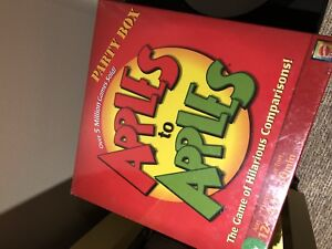 Brand new in package apples to apples.