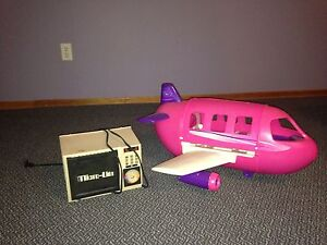 Barbie plane  also have the Cadillac  and another car