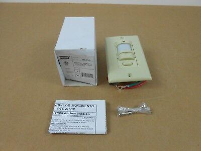 Nib Hubbell Iws-zp-3p-i Iwszp3pi Motion Sensor Pir Wall Switch 120277vac Ivory