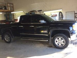 Running boards of 2014 sierra double cab
