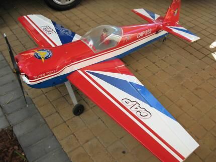 RC (radio control) plane CAP 232 scale model