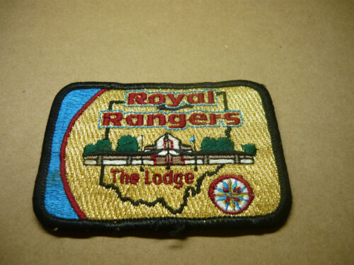 ROYAL RANGERS THE LODGE PATCH*VERY RARE