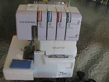JANOME My Style 434D Overlocker Sewing Machine. Ex Cond. Serviced Kotara Newcastle Area Preview