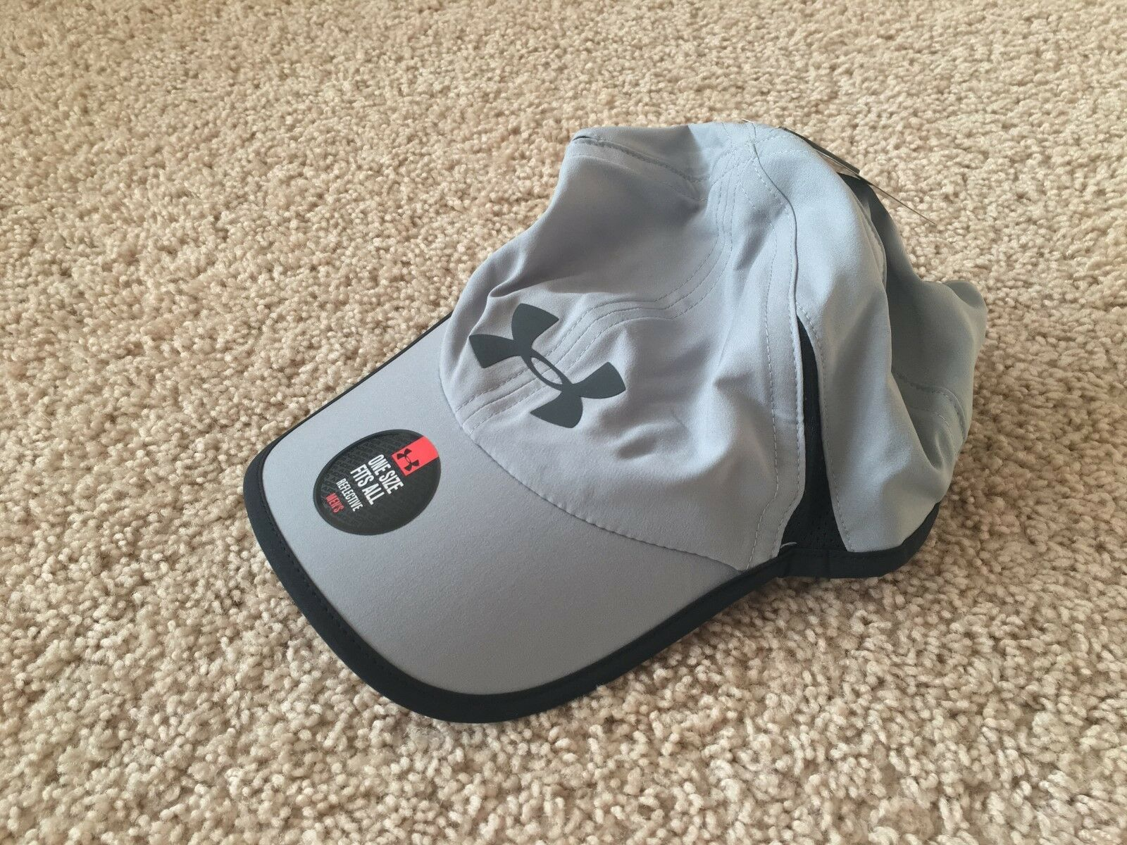 NEW UNDER ARMOUR Heat Gear Shadow 4.0 Running Hat Cap men 12