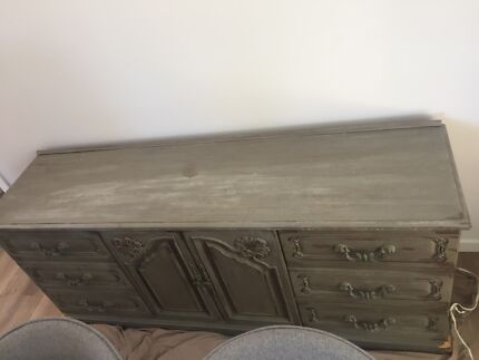 Recycled Buffet unit
