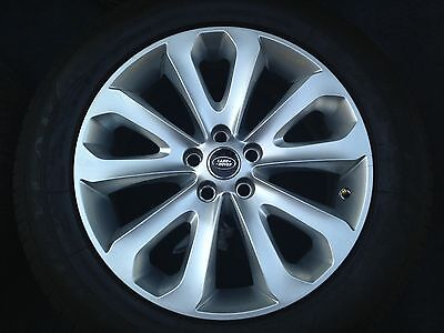 4 NEW  Genuine Range Rover HSE 20 inch WHEELS TIRES Land Sport OEM  BEST