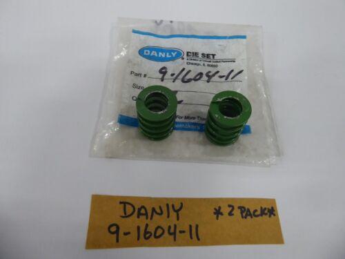 Danly 9-1604-11 Green Die Spring (Pack of 2)