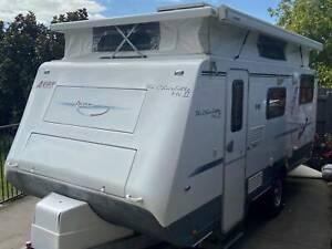 2011 Avan Charlotte Mk 2 Poptop 17' Offroad Family Caravan