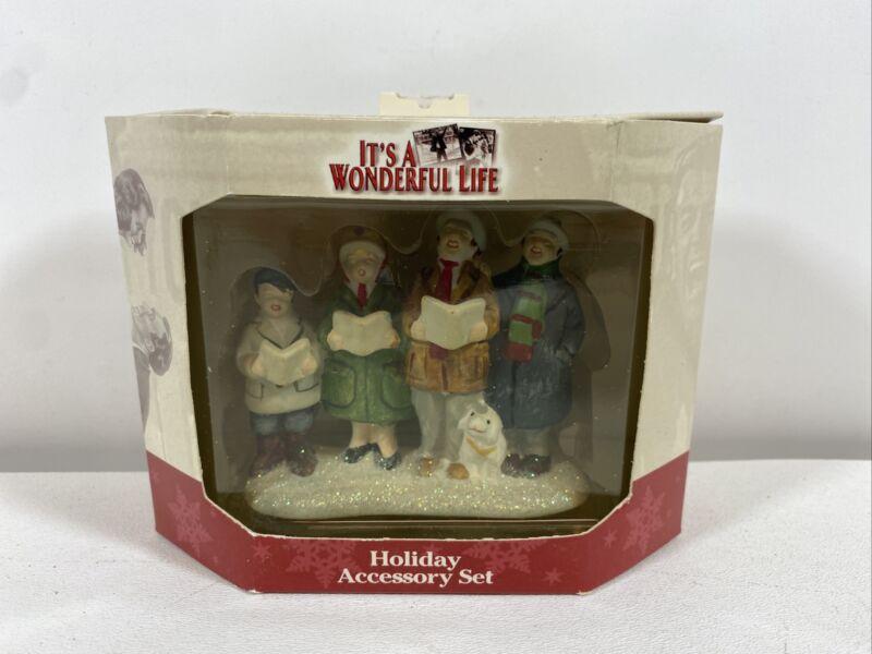 It's A Wonderful Life Holiday Accessory Set Christmas Carolers