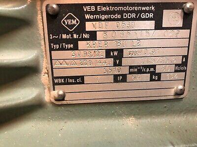 30hp 160l Iec Frame 220440v 3 Electric Motor