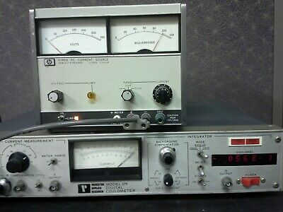Hp 6186a Current Source Power Supply 0-300v 0-100ma Tested 10ua Resolution