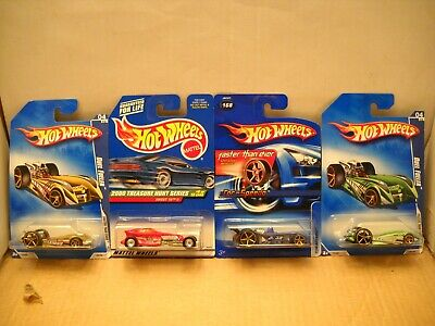 Hot Wheels 2000 Treasure Hunt Sweet 16 II FTE Faster Than Ever Duel Fueler Lot