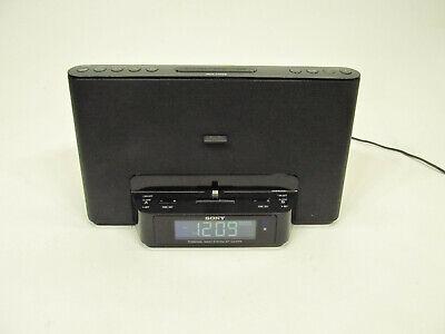 SONY iPHONE LIGHTNING DOCK CLOCK RADIO SPEAKER ICF-CS15iPN - NO REMOTE