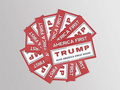 Donald Trump (10pk) - Make America Great Again Bumper Stickers