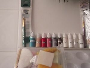 No spoiled kits by overheating! New 10ml Air Dry Paints to reborn your baby (nw)