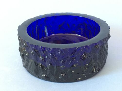 Whitefriars glass bowl by Geoffrey Baxter c1960