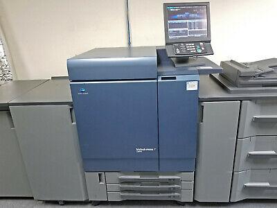 Konica Minolta Bizhub Press C8000 Printer Scanner Copier