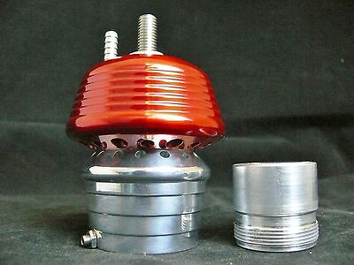 Red VERY LOUD! Blow Off Valve for Turbo system S-Max Billet Aluminum Piston BOV