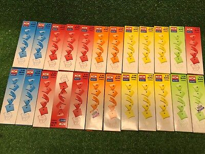 New Lot Of 24 Boxes Geomag Kor Egg Covers - All Colors 26-Piece Creative Magnet