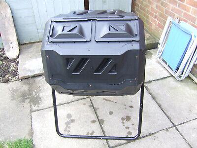 Garden Grow 160L Rotating Compost Tumbler