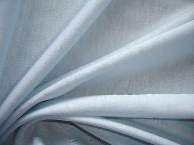 1 Laufmeter Jersey 2,27€/m² hellblau Baumwolle 150cm breit MC6