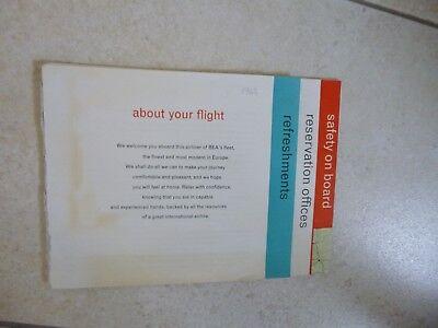 VINTAGE BEA About Your Flight - 1963