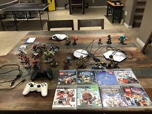 PS3 console and various games