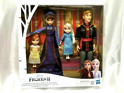 Disney Frozen 2 Arendelle Royal Family Fashion Doll Set King Queen NEW!!