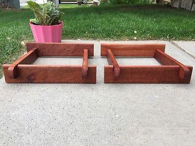 Cherry Speaker Stands (Custom Made Cherry Wood Speaker Stands for Klipsch)