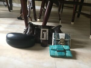 Guess Wallets, Purse, And Glasses Case