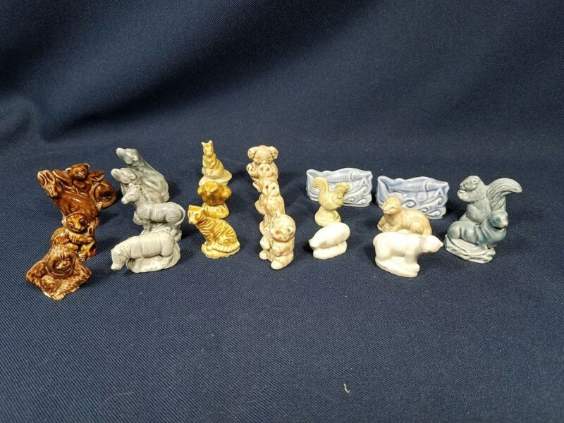 23 Mixed Lot Wade Porcelain Figurines Excellent Condition (3 duplicates)