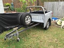 Heavy duty box trailer( make a offer) Browns Plains Logan Area Preview