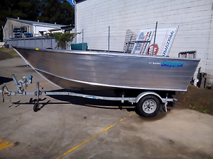 SNYPER Boambee 4.15M Aluminium Boat - BRAND NEW - 2 x ONLY LEFT Coffs Harbour Coffs Harbour City Preview