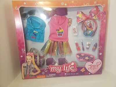 JoJo Siwa My Life As JoJo Travel Set 15 Piece Clothing Accessories Nickelodeon