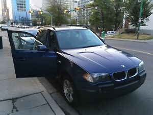 2004 BLUE BMW X3 FOR SALE NEEDS TO GO!