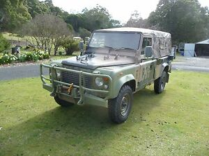 1988 Land Rover Ex Army FFR Perentie Central Coast Preview