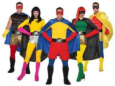 Adult Superhero Costume MUSCLE CHEST Men Adult Teen Hero Magician Villain](Muscle Teen)