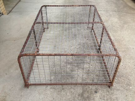 Covered Steel Cage for 6x4 box trailer